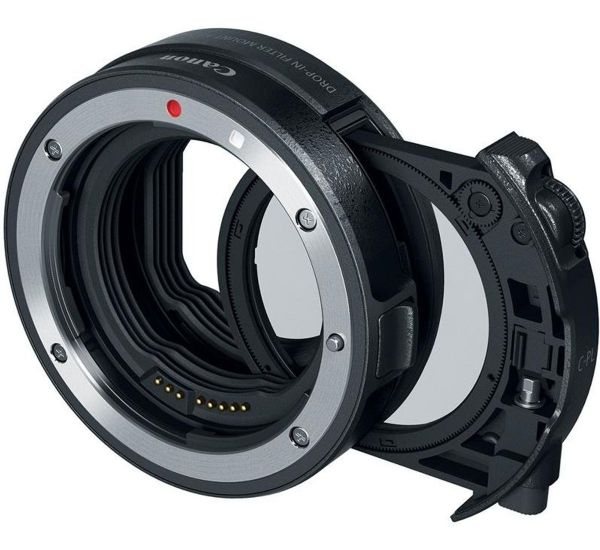 Canon EF - EOS R Drop-In Filter Mount Adapter (3442C005)