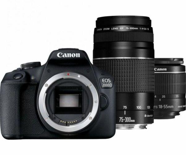 Canon EOS 2000D kit (18-55 + 75-300)