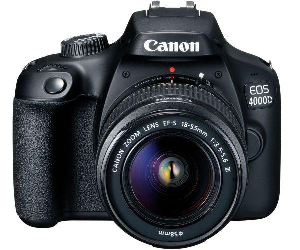 Canon EOS 4000D kit (18-55 + 75-300)
