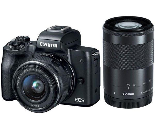Canon EOS M50 kit (15-45mm + 55-200mm) IS STM