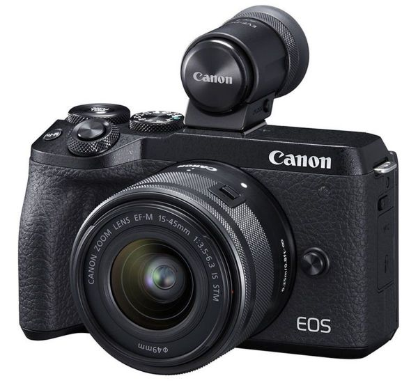 Canon EOS M6 Mark II kit (15-45mm) + EVF-DC2