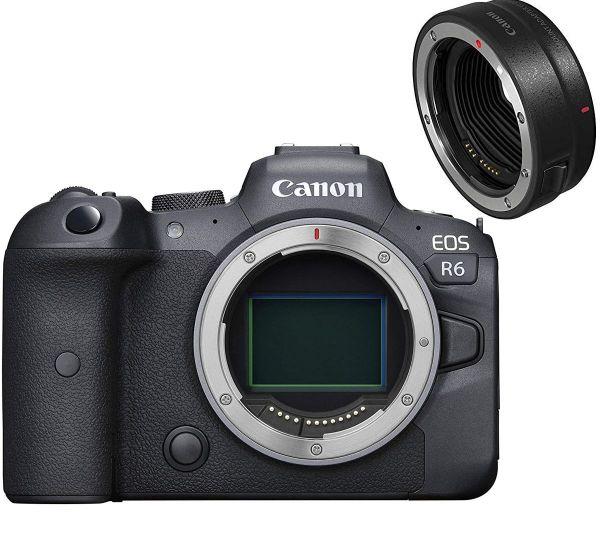 Canon EOS R6 Body + MT ADP EF-EOSR
