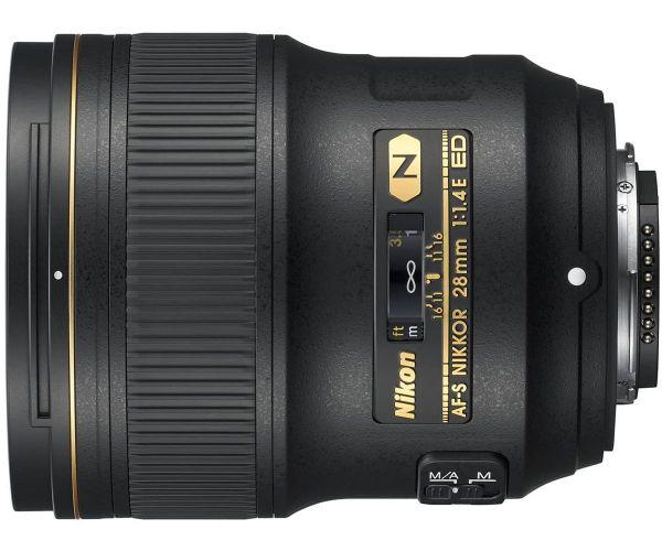 Nikon AF-S Nikkor 28mm f/1,4E ED (JAA140DA)