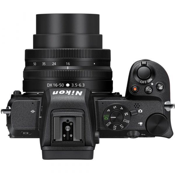 Nikon Z50 kit (16-50mm)VR + FTZ Mount Adapter