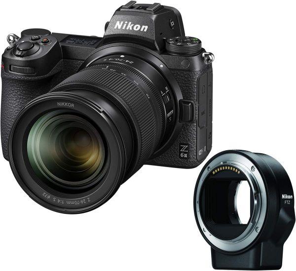 Nikon Z6 II kit (24-70mm) + FTZ Mount Adapter