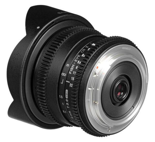 Samyang 8mm T3,8 Cine AS IF UMC CS II