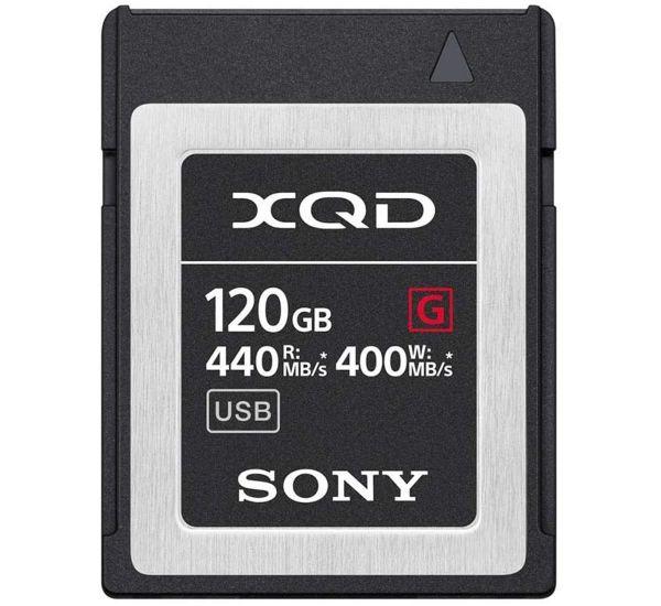 Sony 120 GB XQD G Series PCI Express 3.0 (QDG120F)