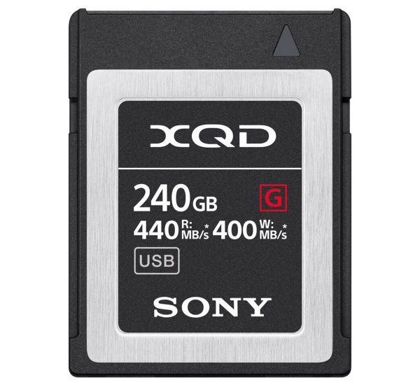 Sony 240 GB XQD G Series PCI Express 3.0 (QDG240F)