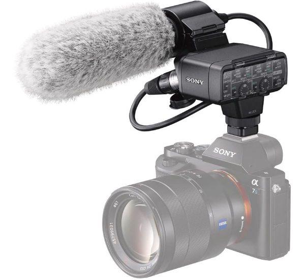 Sony Адаптер XLR-K2M + микрофон
