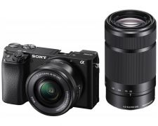 Sony Alpha A6100 kit (16-50 + 55-210mm)