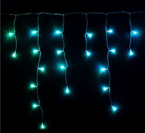 Twinkly Smart LED Icicle RGB 190 BT+WiFi Gen II IP44 кабель прозрачный (TWI190STP-TEU)