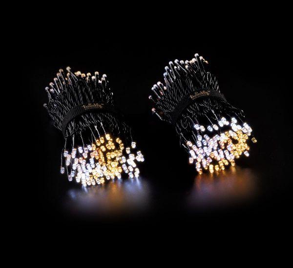 Twinkly Smart LED Strings AWW 400 BT+WiFi Gen II IP44 кабель черный (TWS400GOP-BEU)