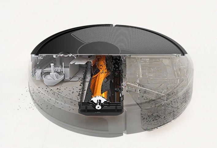 Картинки по запросу Ibot Vac Plus Мощность всасывания - 2500 Pa  Оснащенный японским бесщеточным двигателем фирмы NIDEC, робот пылесос iBot Vac Plus развивает мощность всасывания до 2500 Па. Он эффективно справится даже с самым тяжелым загрязнением.